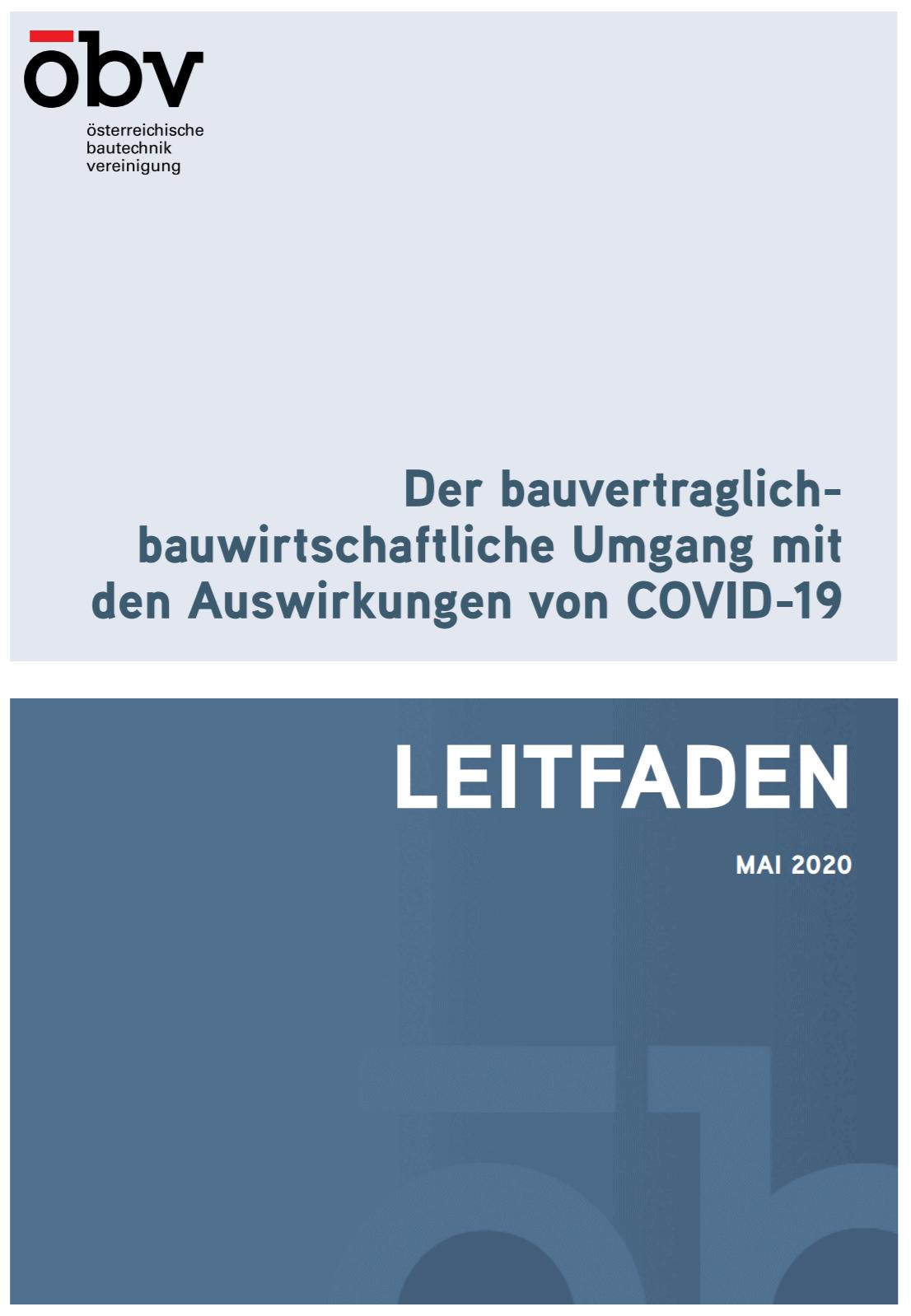 ÖBV-Leitfaden COVID-19